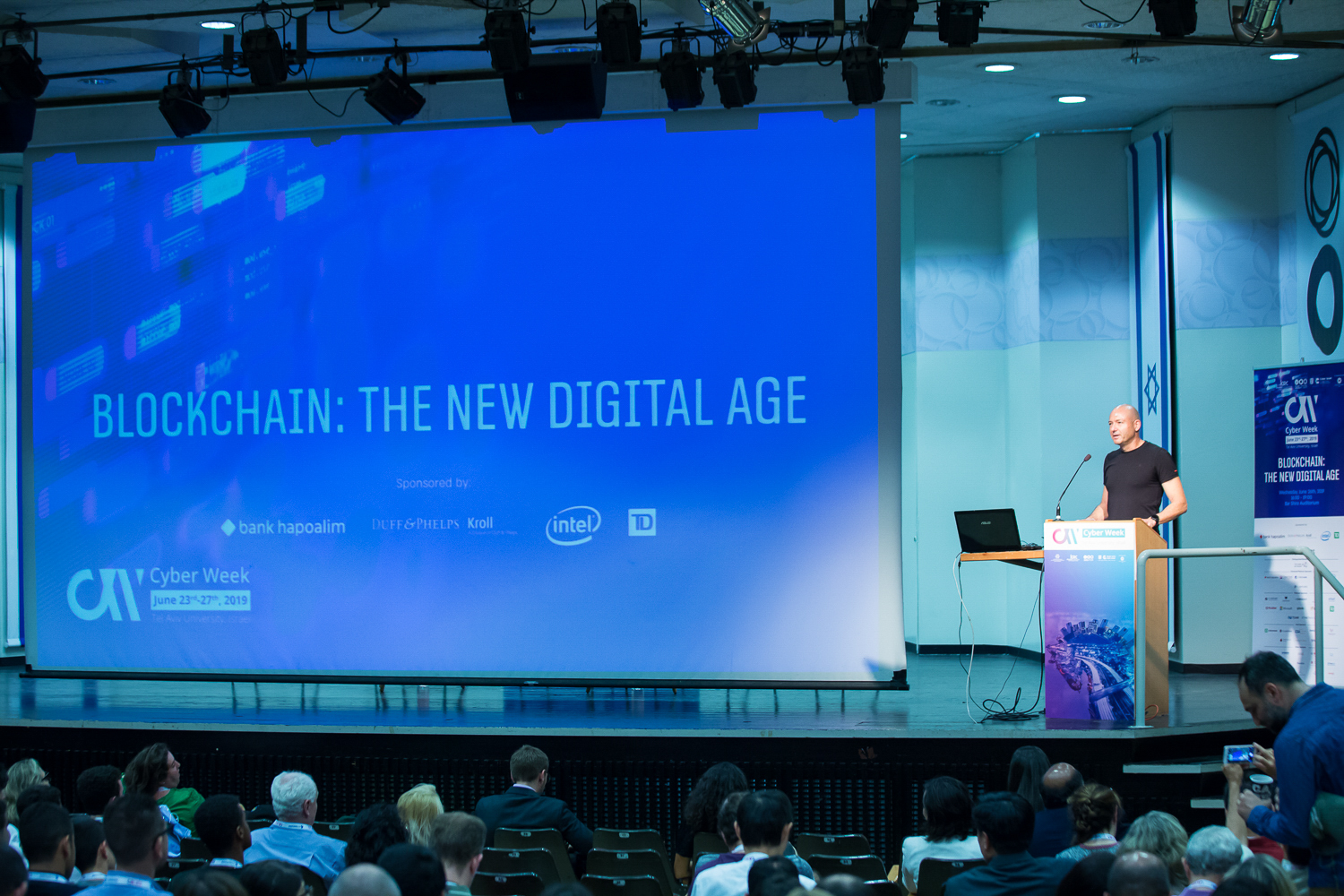 Showing image of CW 2019 - Blockchain: The New Digital Age