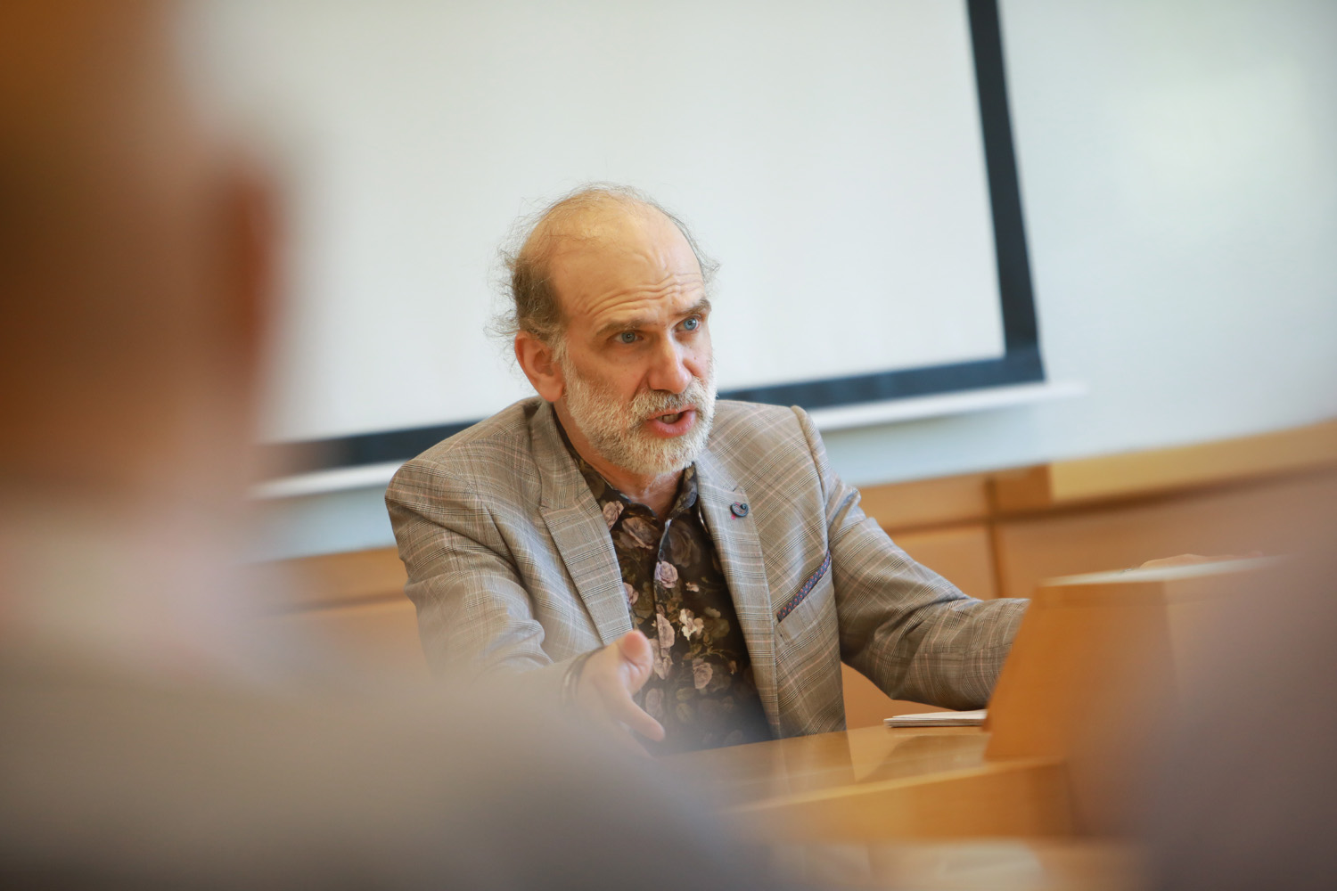 Showing image of Bruce Schneier Academic Seminar
