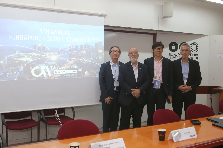 Showing image of Singapore - Israel Roundtable